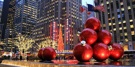 NEW YORK before Christmas